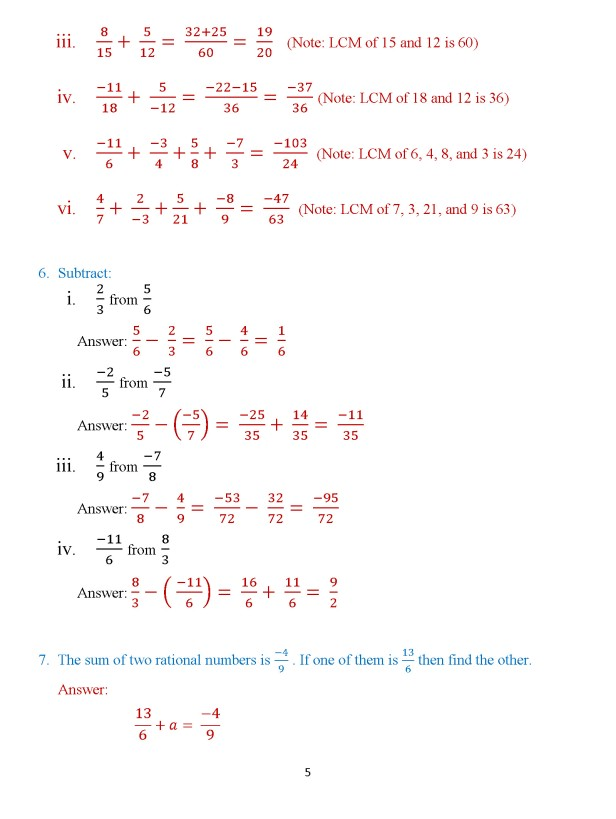 Class 8 Chapter 3 – Numbers – Exercise 3B Page 5