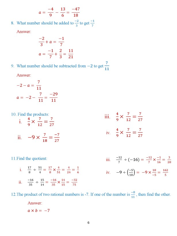 Class 8 Chapter 3 – Numbers – Exercise 3B Page 6