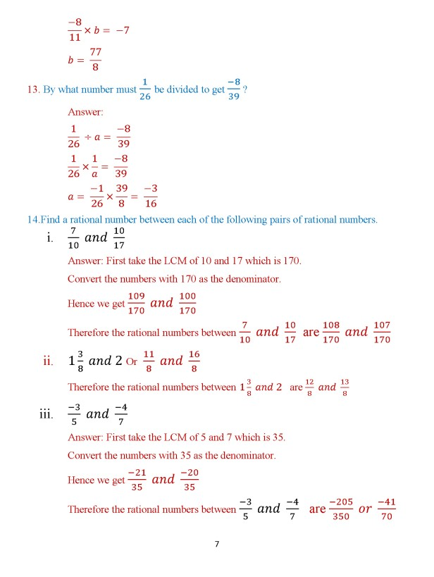 Class 8 Chapter 3 – Numbers – Exercise 3B Page 7