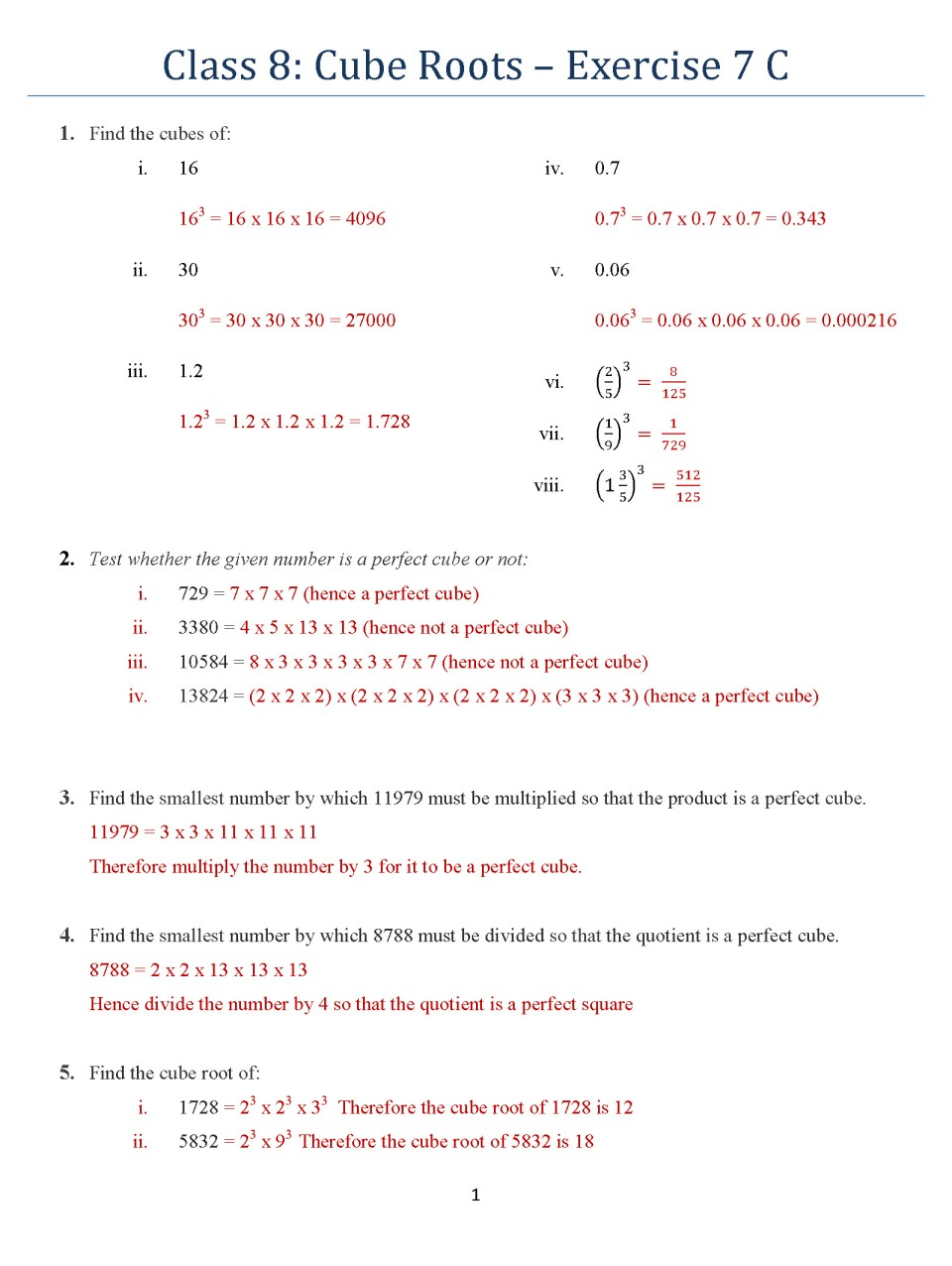 Square Roots And Cube Roots Homework Writing Service