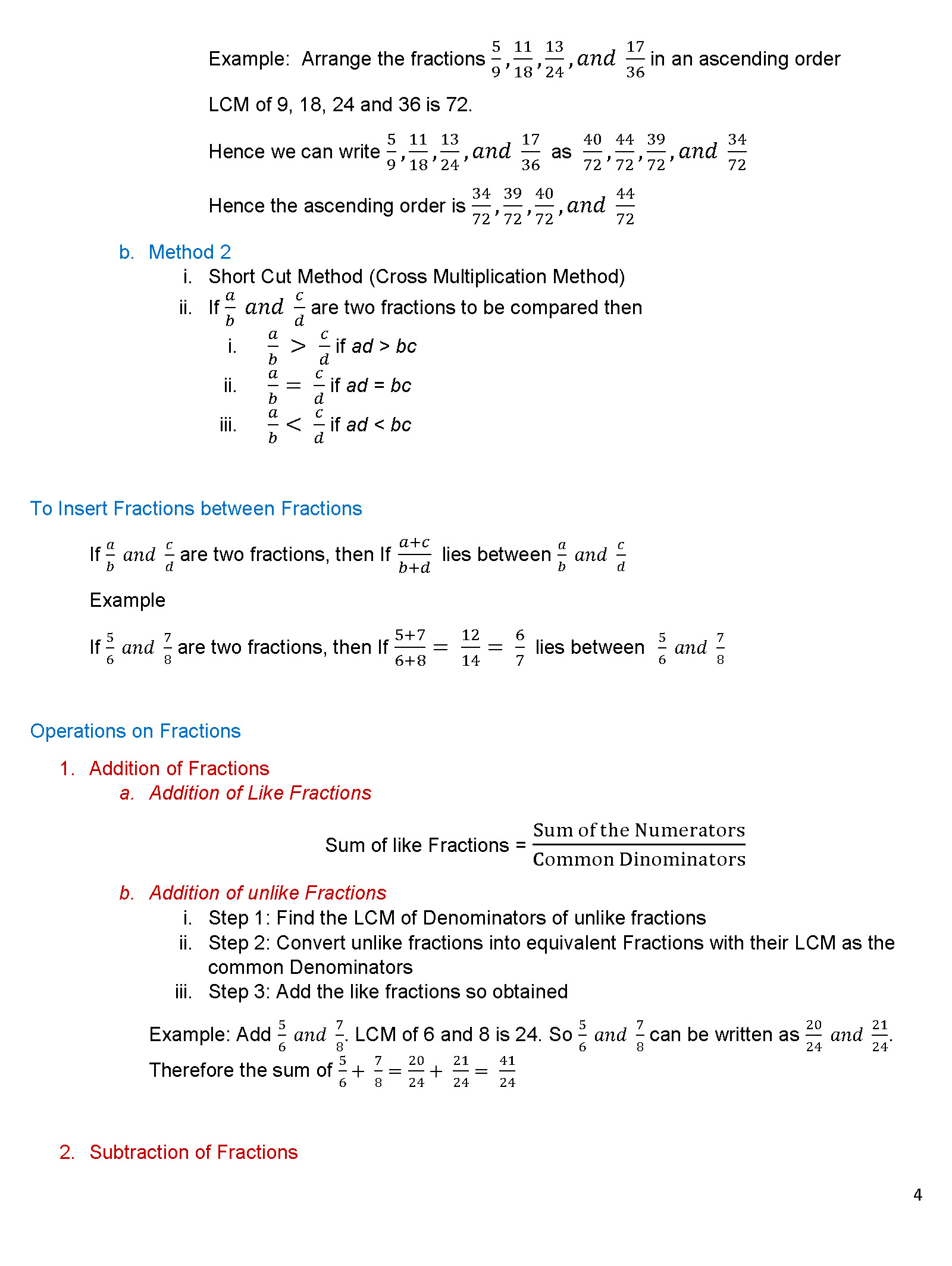 Modeling Multiplication Of Fractions Worksheets subtracting a – Multiplication of Fractions Worksheets Grade 5