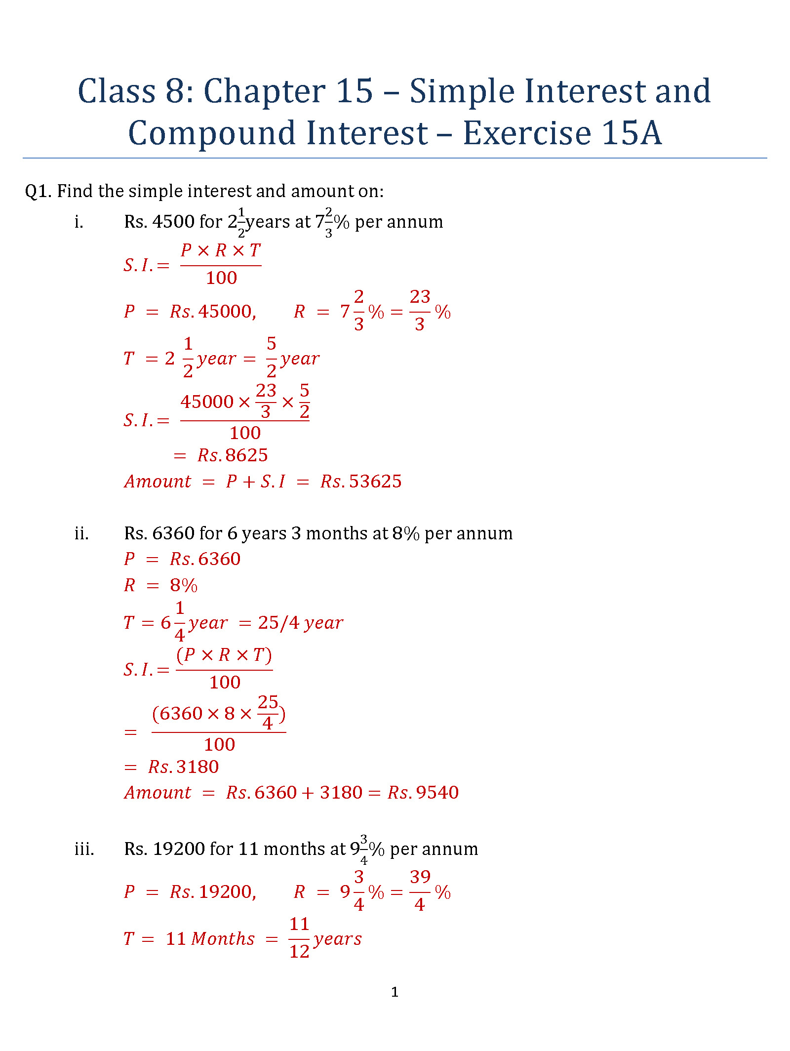 Worksheets Compound Interest Worksheets collection of compound interest practice worksheet cockpito simple and luizah