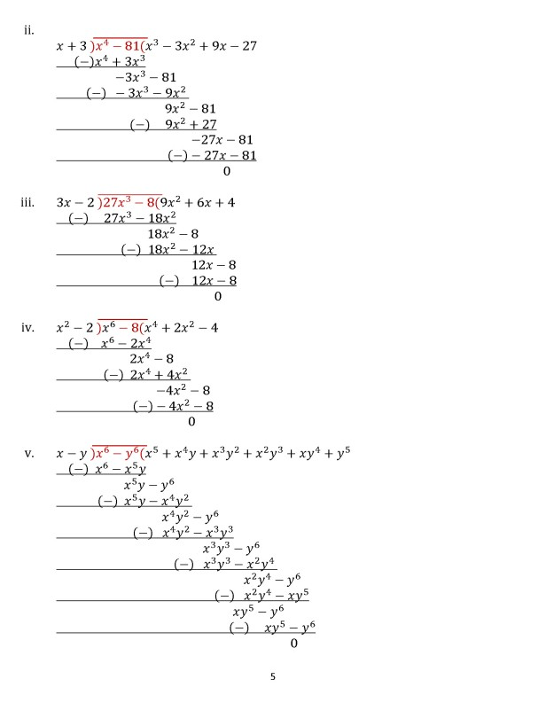 Class 8 Chapter 16  – Exercise 16D Page 5