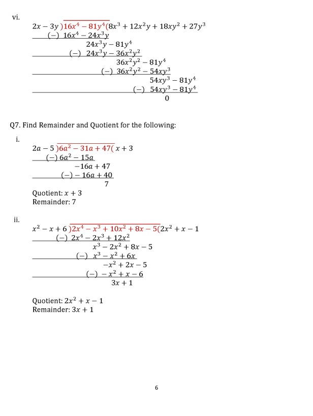Class 8 Chapter 16  – Exercise 16D Page 6