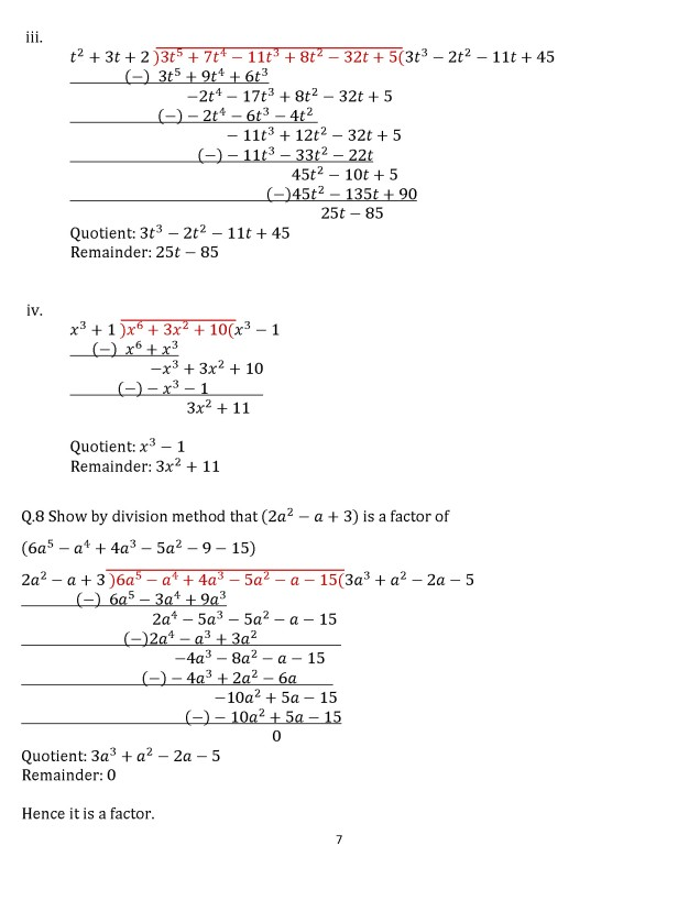 Class 8 Chapter 16  – Exercise 16D Page 7