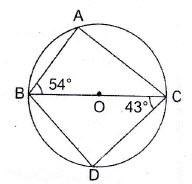 Class 8: Circle – Exercise 33 – ICSE / ISC / CBSE